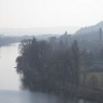 Vyšehrad, pohled na Vltavu