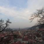 Praha, výhled z Pražského hradu