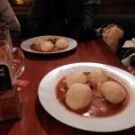 večeře v hospodě U Pivrnce