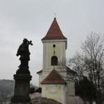 barokní socha sv. Jana Nepomuckého