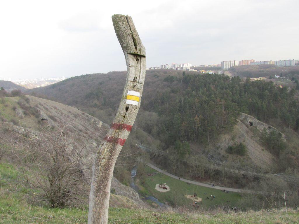 pohled do Prokopského údolí