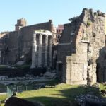trosky dávné slávy předkřesťanského Říma