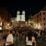 Řím večer