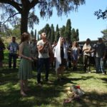 ceremonie na Palatino