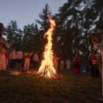 Nečín, 20.06.18 Kupalo, slovanská oslava léta, slunovrat, Slované, Slovanský kruh. PETR TOPIČ